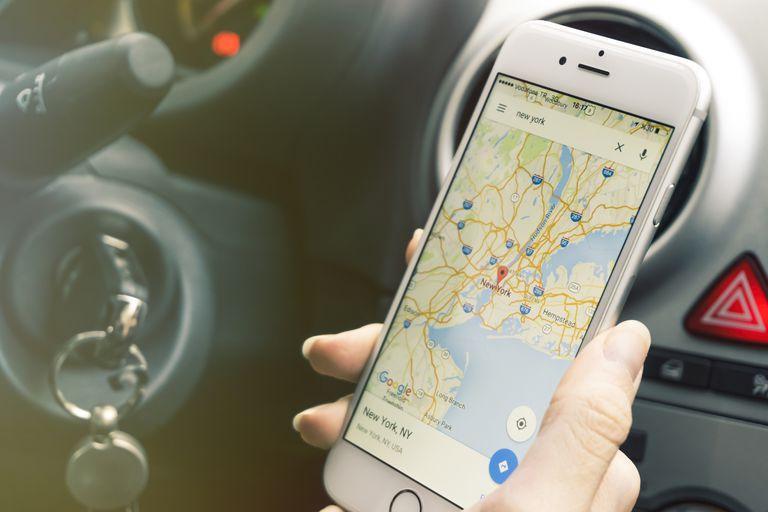 Google Maps для iPhone