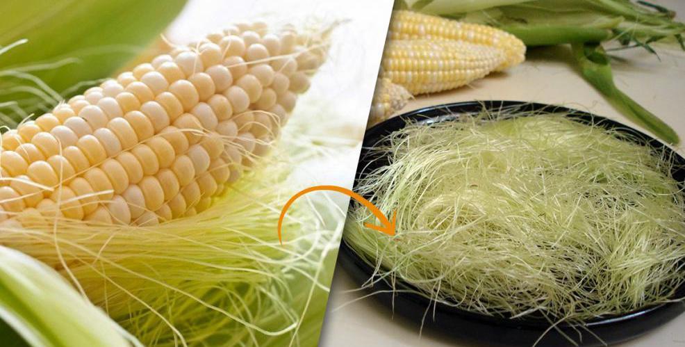 Похудение кукурузные рыльца